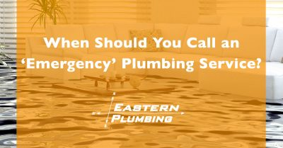 "When Should You Call an ""Emergency"" Plumbing Service?"